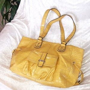 Bags - Sunshine yellow tote